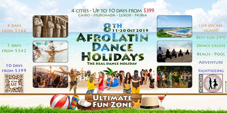 8th AfroLatin Dance Holidays - Egypt tickets