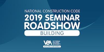 NCC 2019 Seminar Roadshow ENGINEERS AUSTRALIA - Building