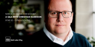 Who is running for Mayor: A Q&A with Christian Harrison