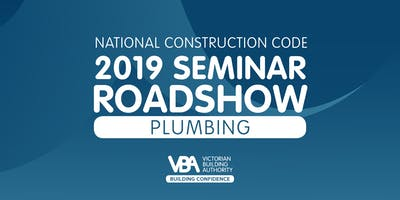 NCC 2019 Seminar Roadshow RESERVOIR - Plumbing