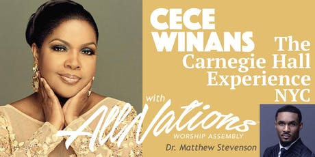 CECE WINANS CARNEGIE HALL CHOIR EXPERIENCE tickets