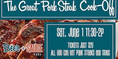 The Great Pork Steak Cook-off! tickets