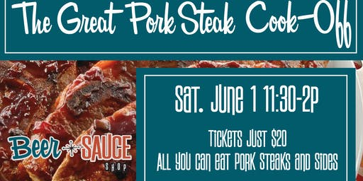 The Great Pork Steak Cook-off!
