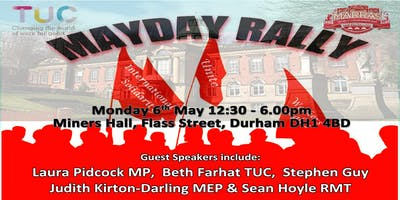 Durham May Day Rally 2019