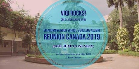 Viqi Reunion Toronto 2019 tickets