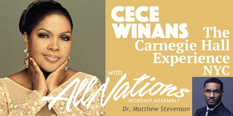 CECE WINANS CARNEGIE HALL FAN EXPERIENCE tickets