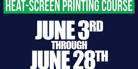 Heat-Screen Printing Course tickets