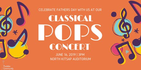 Poulsbo Community Orchestra's Summer Pops Concert tickets