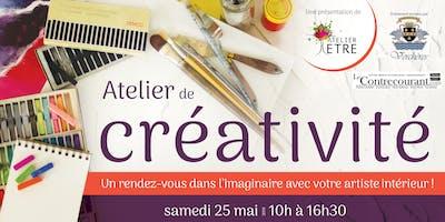 Atelier créatif: Rendez-vous dans l'imaginaire avec votre artisteintérieur