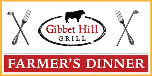Gibbet Hill Farmer's Dinner • August 21, 2019