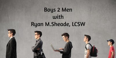 Boys To Men: Boys Confidence and Leadership Group