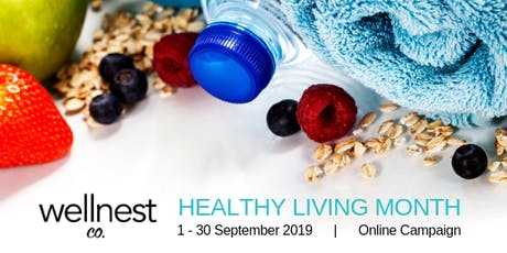 2019 Healthy Living Month tickets