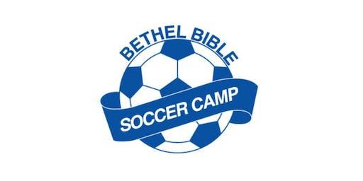 Bethel Bible Soccer Camp 2019