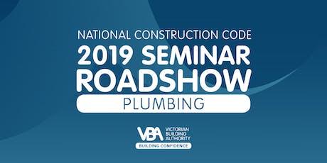 NCC 2019 Seminar Roadshow BALLARAT - Plumbing tickets