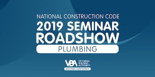 NCC 2019 Seminar Roadshow HORSHAM - Plumbing