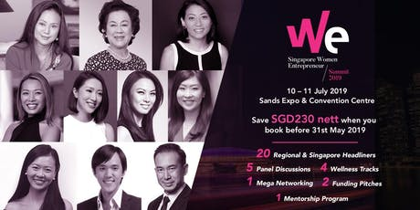 Singapore Women Entrepreneur Summit 2019 tickets