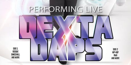 Dexta Daps Performing Live, Up Close and Personal at MP Ultra Lounge! tickets