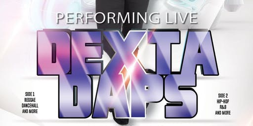 Dexta Daps Performing Live, Up Close and Personal at MP Ultra Lounge!