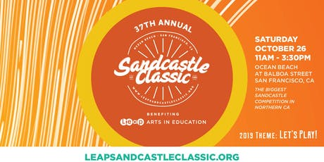 2019 Leap Sandcastle Building 101 tickets
