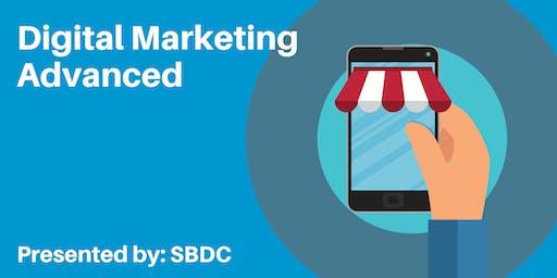 Digital Marketing Advanced - Saturday pop-up session