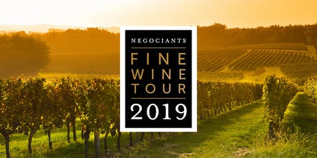 Negociants Fine Wine Tour 2019 - Christchurch Public tickets