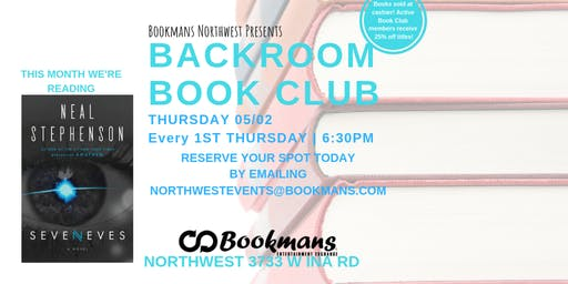 Backroom Book Club at Bookmans Northwest