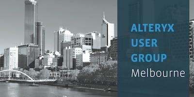 Alteryx User Group – Melbourne