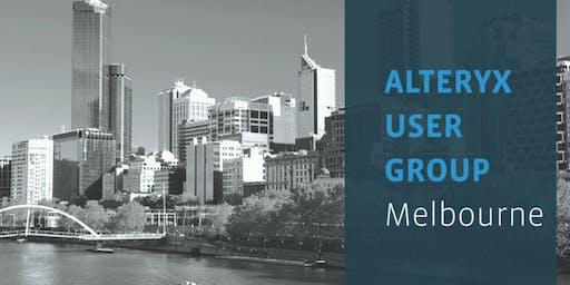 Alteryx User Group - Melbourne