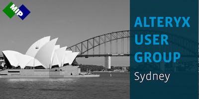 Alteryx User Group – Sydney