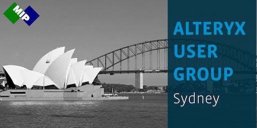 Alteryx User Group - Sydney