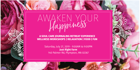 AWAKEN YOUR HAPPINESS RETREAT: BLOOM INTO WELLNESS tickets