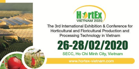 HortEx Vietnam 2020 tickets