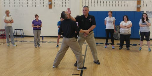 Self Defense Class at AleCraft with Howard High