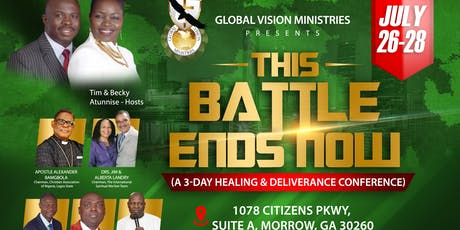This Battle Ends Now tickets
