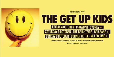 The Get Up Kids Australian Tour tickets