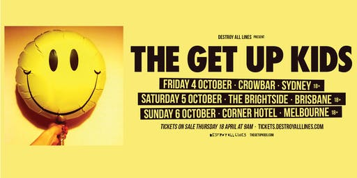 The Get Up Kids Australian Tour