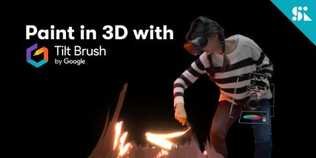 Paint in 3D with Tilt Brush by Google, [Ages 7-14], 16 Nov (Sat 9:30AM) @ East Coast tickets