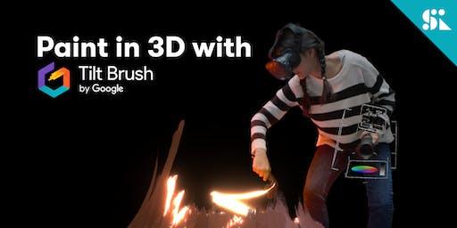 Paint in 3D with Tilt Brush by Google, [Ages 7-14], 22 Dec (Sun 2:00PM) @ East Coast