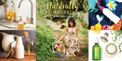 Naturally Inspired Book Tour - Chat to the Author in Fremantle, WA