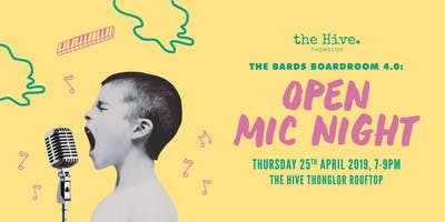 The Bards Boardroom 4.0: Open Mic Night