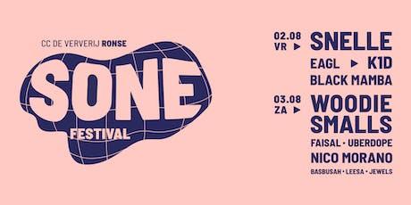 SONE festival 2019 billets