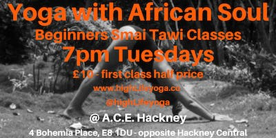 Yoga with African Soul, Hackney