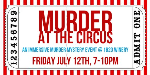 Murder at the Circus: An Immersive Murder Mystery Event