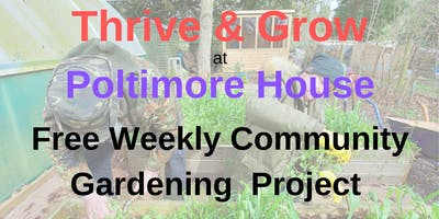 Thrive and Grow Project at Poltimore House