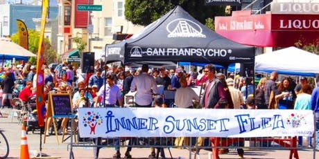 Inner Sunset Second Sundays Flea Market: A Taste of Comedy Day tickets