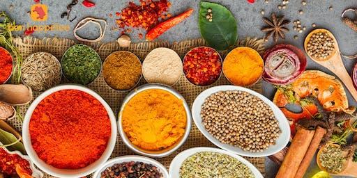 Vegan Indian Cuisine Cookery Course.
