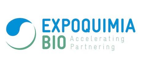 Expoquimia BIO: transformando la industria para dar respuesta a los grandes retos sociales entradas