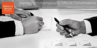 Managing Performance and Difficult Conversations