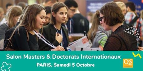 Salon QS des Meilleurs Masters - Paris  billets