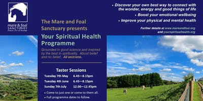 Your Spiritual Health Taster Sessions